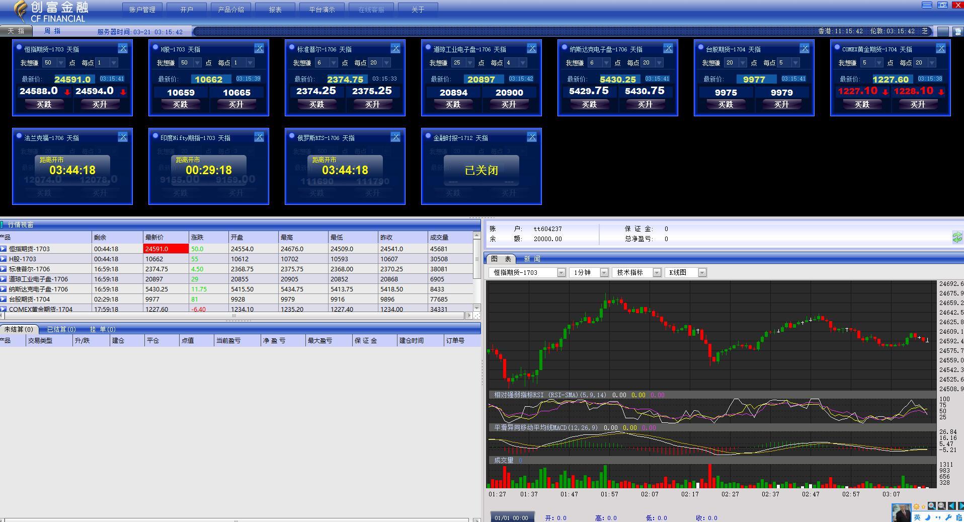 创富金融IST交易平台截图2