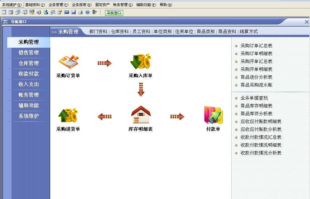 速拓陶瓷建材销售系统截图1