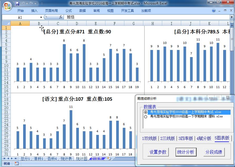 易捷成绩分析系统截图1