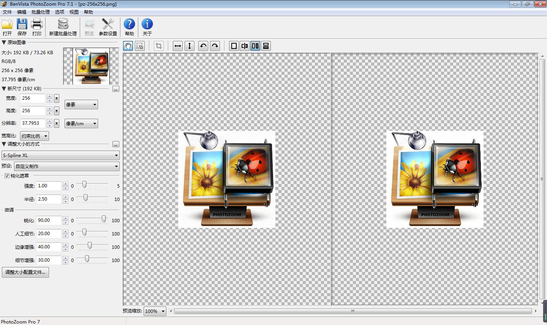 PhotoZoom Pro(Mac版)图片无损放大软件截图1