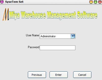 秘亚英文库存管理系统截图1