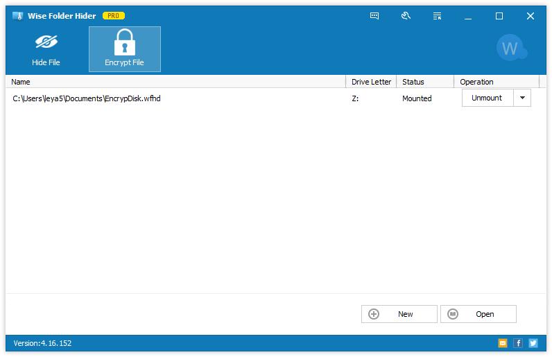 隐藏和加密文件(Wise Folder Hider)官方正式版截图2