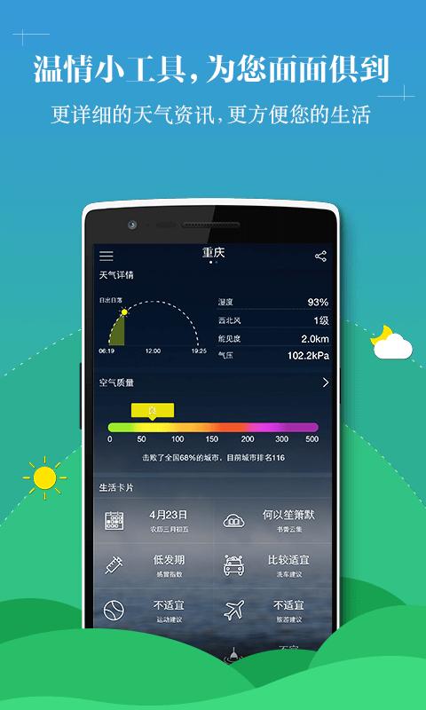 中央天气预报截图2