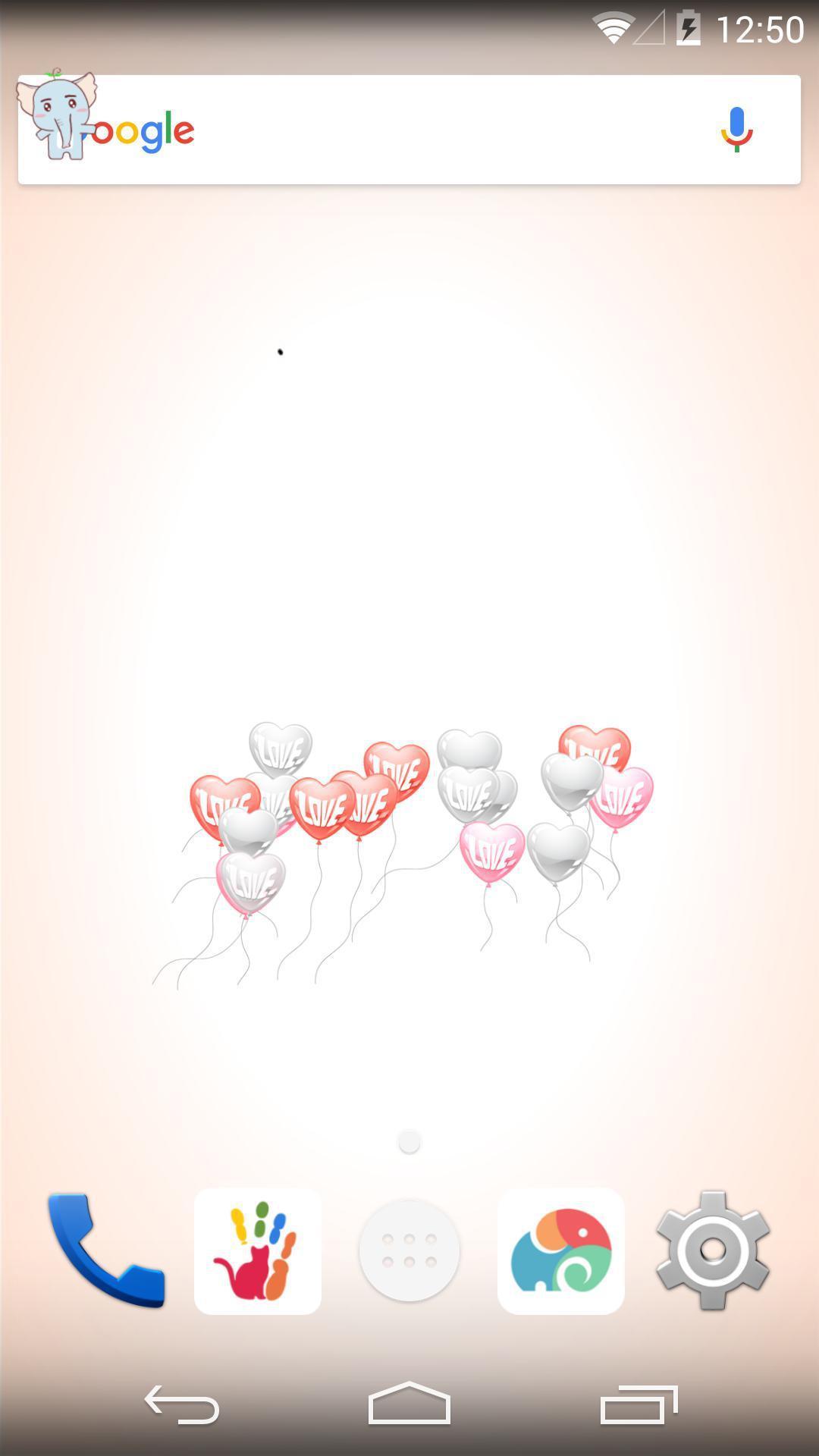 爱心气球-梦象动态壁纸截图1