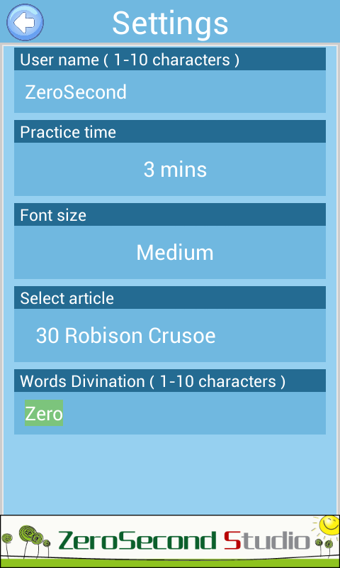 英文打字练习截图5