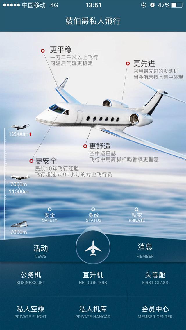私人飞行截图1