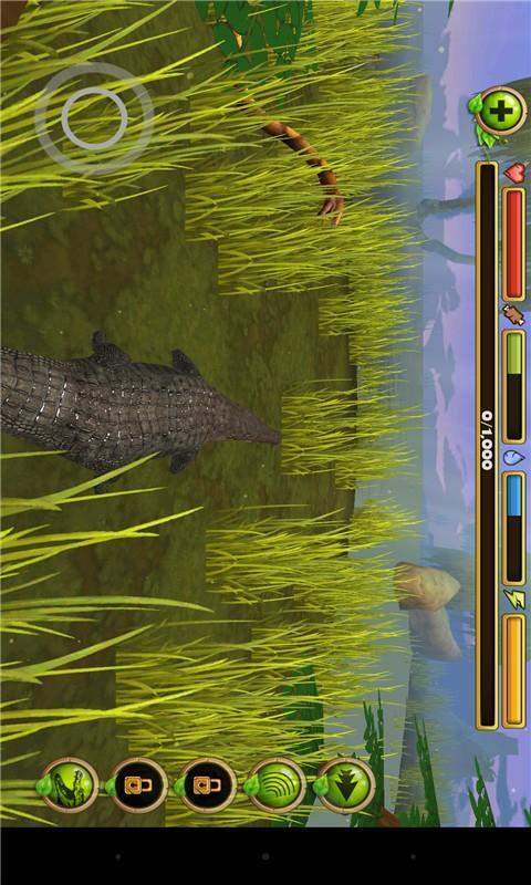 鳄鱼模拟生存
