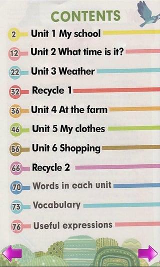 小学英语四年级下册