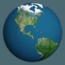 3D地球LOGO