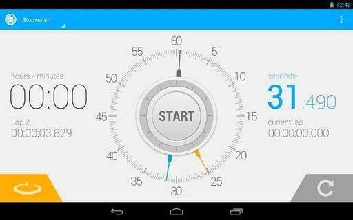 秒表 计时器截图3