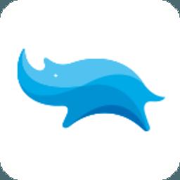 蓝犀牛LOGO