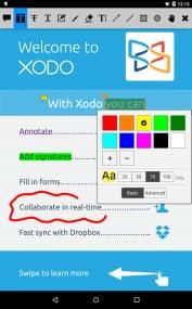 Xodo阅读器截图6