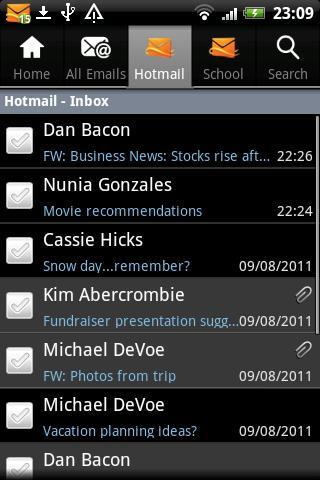 Hotmail客户端截图4