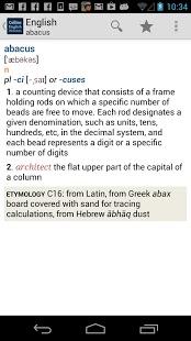 柯林斯英语词典TR截图4