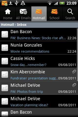 Hotmail客户端截图3
