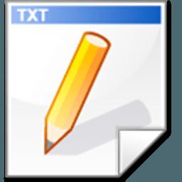 新建TXT文檔