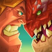怪物城堡—龙之战LOGO
