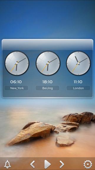 桌面天气iPad版截图4
