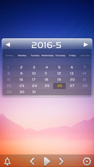 桌面天气iPad版截图3