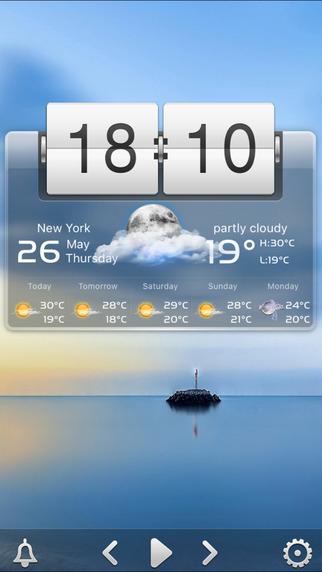 桌面天气iPad版截图2