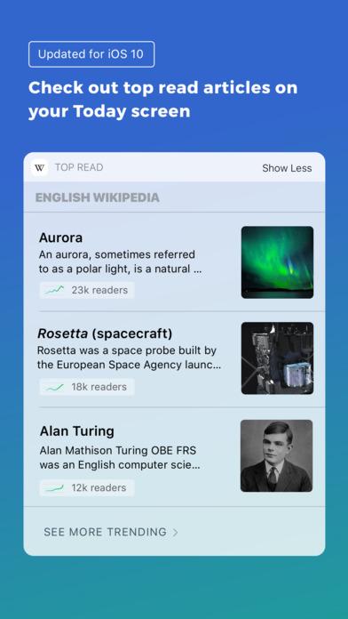 维基百科iPad版截图3