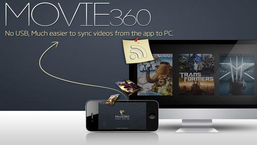 Movie360iPad版截图2