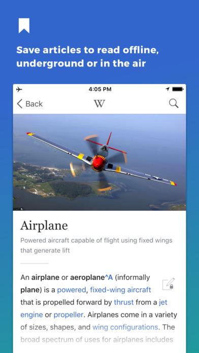 维基百科iPad版截图2