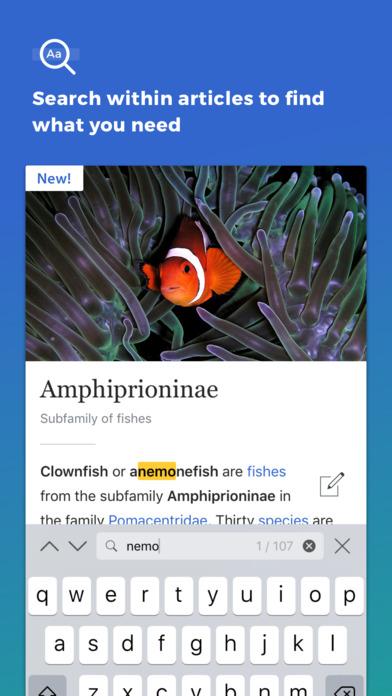 维基百科iPad版截图4