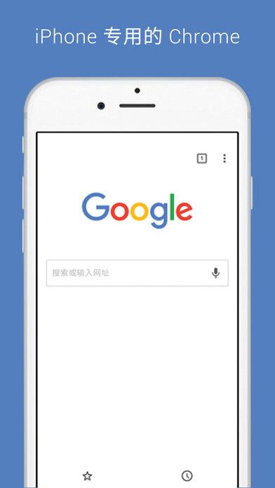 谷歌浏览器iPad版截图1