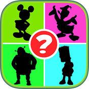 儿童教育游戏 - 学习卡通测验