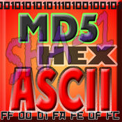 !ASCII HEX BASE64 MD5 SHA