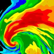 气象雷达 — 天气预报、温度和雨量图
