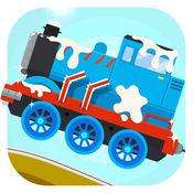 闪电小火车总动员 - 儿童驾驶和赛车游戏LOGO