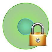 隐藏的间谍锁相机,用密码保护加密