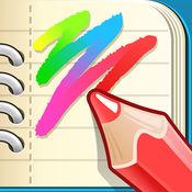 著色頁為孩子- 彩色畫圖本的涂鴉游戲 為男孩和女孩