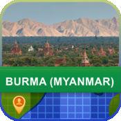 当前离线 缅甸(缅甸) 地图