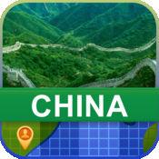 当前离线 中国 地图