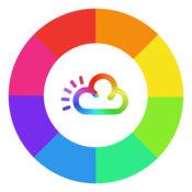 彩虹天气小工具:最小和美丽的每周预测