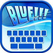 蓝色 键盘LOGO