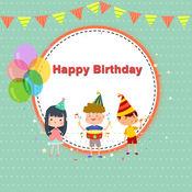 生日框架应用程序, 生日拼贴制造商应用程序LOGO