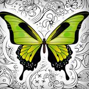 蝴蝶 和 花