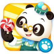 熊猫博士糖果工厂LOGO
