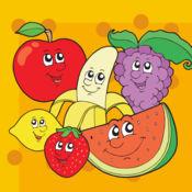 了解水果的英文拼写文字游戏为孩子 新