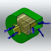 管道计算器精英 - 空气管道尺寸计算器LOGO
