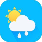 实时天气预报 - 专业版精准15天降水温度湿度LOGO