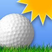 我打高尔夫球天气
