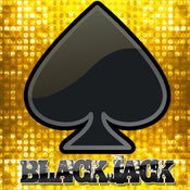 blackJack 21发烧一流游戏LOGO