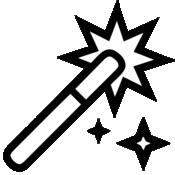 魔法锁屏LOGO