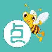 聚点小蜜蜂LOGO
