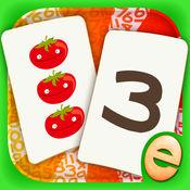 数字游戏匹配游戏免费游戏的孩子数学